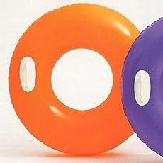 INTEX (インテックス) 浮き輪 ハイグロスチューブ 76cm オレンジ 対象年齢:8歳から swm-uk-59258or