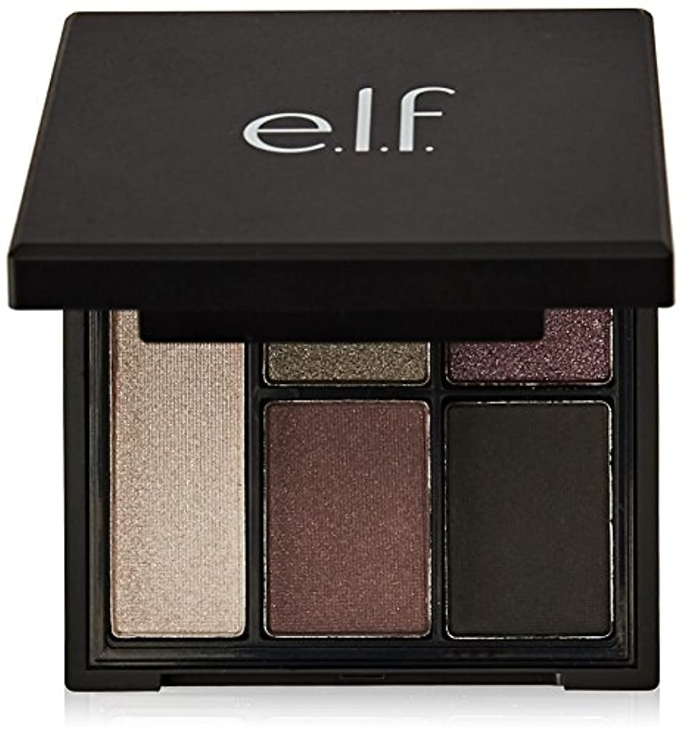 株式未使用試用e.l.f. Clay Eyeshadow Palette Smoked to Prfection (並行輸入品)