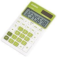 カシオ カラフル電卓 手帳タイプ 8桁 SL-300B-GN-N シトラスグリーン