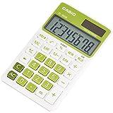 カシオ 電卓 手帳タイプ 8桁 SL-300B-GN-N シトラスグリーン