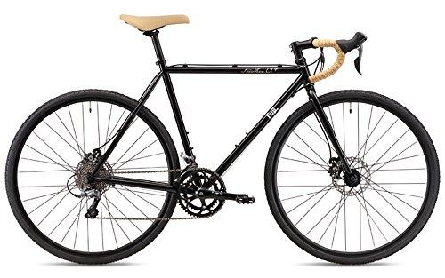 FUJI(フジ) FEATHER CX+ 2x8段変速 ディスクブレーキ ロードバイク 19FEACBK54 SPACE BLACK 54cm