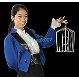 登場する鳥かご銀 Sサイズ Appearing Bird Cage Silver S size -- ステージマジック