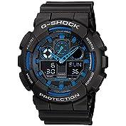 CASIO (カシオ) 腕時計 G-SHOCK(Gショック) GA-100-1A2 海外モデル  [...