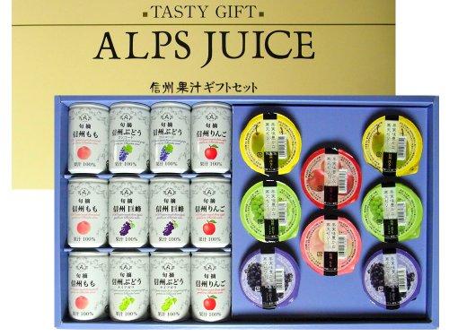 [ アルプス ] 信州果汁ギフト 旬摘 果汁100%ジュース...