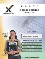 Cset Social Science 114-115: Teacher Certification Exam (XAM CSET)