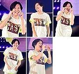 椿泰我 KAT-TUN LIVE TOUR 2018 CAST 生写真5枚