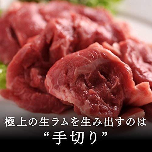 肉のあおやま 北海道名物! 生ラムジンギスカン 200g(焼肉 肉 焼き肉 バーベキュー BBQ バーベキューセット) オーストラリア産
