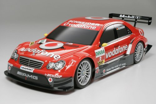 1/10 電動RCカーシリーズ RCC ボーダフォン AMGメルセデス Cクラス DTM 2006(TT-01)完成ボディ 58379