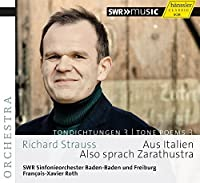 Richard Strauss: Tone Poems, Vol. 3 by SWR Sinfonieorchester Baden-Baden und Freiburg