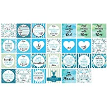 Boy Preemie NICU Milestone Cards and a no touching sign