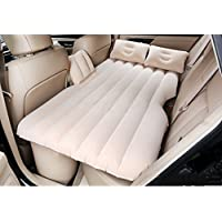 車のインフレータブルベッドエアベッドの車のベッドは、通常のフロッキングベージュのブロックを持っています(多色オプション)