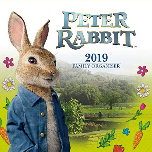 Peter Rabbit Family Organiser Official 2019 Calendar - Square Wall Calendar Format