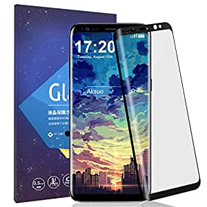 Galaxy S8+ フィルム Oneid Galaxy S8 Plus フィルム 全面保護 気泡ゼロ 指紋 飛散防止 撥油性 3D熱曲げ技術 端が浮かない 硬度9H 超薄 Samsung ギャラクシー S8 プラス 液晶保護フィルム