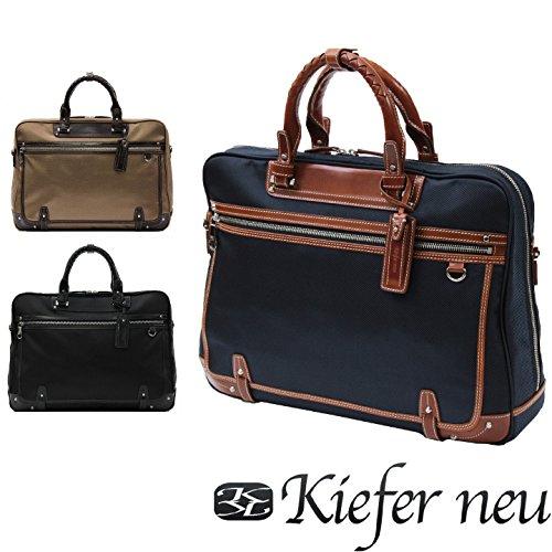 (キーファーノイ)Kiefer neu ビジネスバッグ KFN3306L ルーチェ ベージュ/チョコ