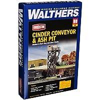 Walthers Cornerstone Series Kit HO Scale Cinder Conveyor & Ash Pit
