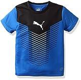 (プーマ)PUMA サッカーウェア FTBLTRG  グラフィック トレーニング半袖Tシャツ 655389 [ジュニア] 655389 23 プーマ ローヤル/ブラック/プーマ ホワイト 130