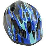 Bid Buy Directヘルメット - 48?56センチメートル(ブルー&ブラック、1パック)から調整可能なストラップ付き
