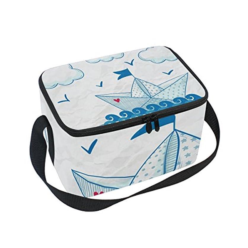 アリス分類恐怖クーラーバッグ クーラーボックス ソフトクーラ 冷蔵ボックス キャンプ用品 紙船柄 雲 保冷保温 大容量 肩掛け お花見 アウトドア