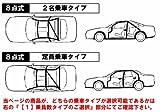 トゥディ[JW3(2ドア)]用 8点式ロールバー[アルミ]2名乗車Type ダッシュ逃げ