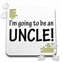 EvaDane–引用–Im Going To Be An Uncleブラック–10x 10インチパズル(P。_ 254697_ 2)