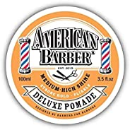 American Barber Medium-High Shine Deluxe Pomade 100 ml, 100 ml
