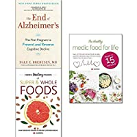 End of alzheimer's [hardcover] hidden healing powers of super & whole foods and healthy medic food for life 3 books collection set [並行輸入品]