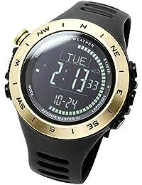 [ラドウェザー]アウトドア腕時計 気圧計 高度計 温度計 方位計 登山ウォッチ