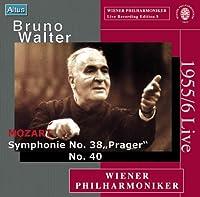 モーツァルト:交響曲第38番「プラハ」、第40番