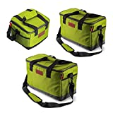【KICHENART】高級感あふれる クーラーボックス クーラー ソフトクーラー アイスバッグ(5,15,25リットル) ピクニック 、 釣り 、 キャンプ 、 休暇 、 登山 、 ランチバッグ (25 liters)