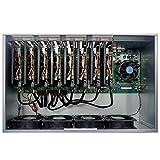 ASIC Miner g-miner Oneボード8GPU 245MH/s 1600W PSU ASIC ETH etc ZEC SC Miner
