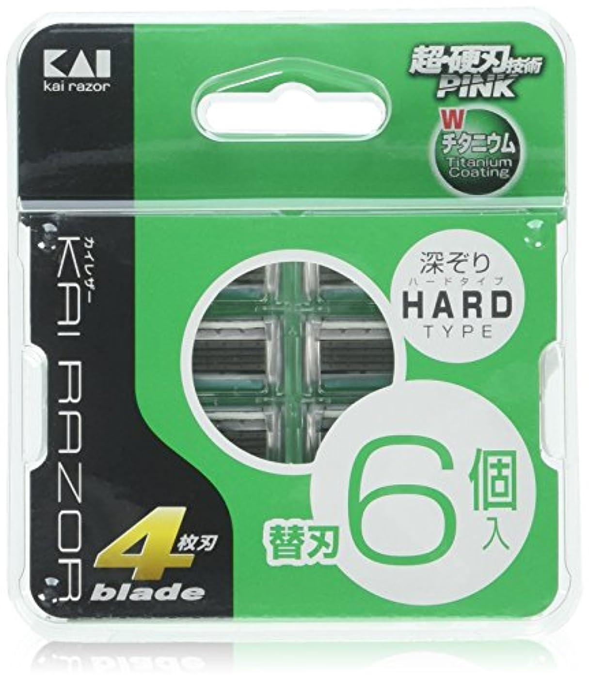 開梱関係するガイドカイレザー 4枚替刃 6P