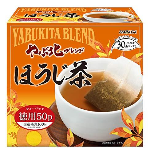 やぶ北ブレンド 徳用ほうじ茶ティーバッグ 2g×50P