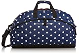 [ベネトン] BENETTON 2way Boston Bag 2BE6490BT Navy x White 7201 (ネイビー×ホワイト)