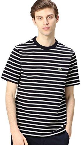 (ビューティ&ユース ユナイテッドアローズ) BEAUTY&YOUTH UNITED ARROWS <LACOSTE (ラコステ)> H/PIQUE BOR C/N/Tシャツ 12174990444 7970 NAVY(79) 3
