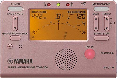 ヤマハ YAMAHA チューナーメトロノーム TDM-700P