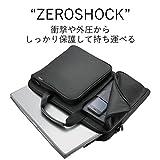 エレコム パソコンバック 衝撃吸収 ZEROSHOCK スリム ZSB-BM005NBK