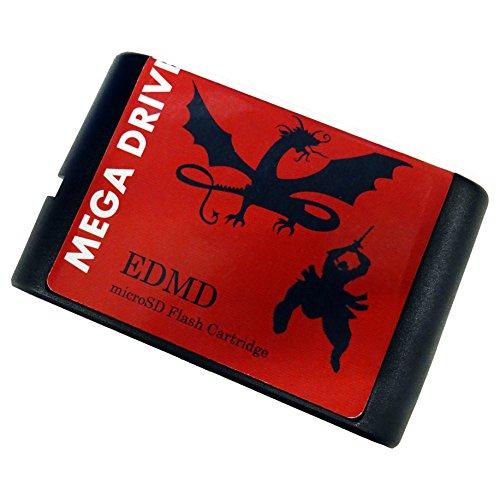 [SRPJ]microSD対応 メガドライブ EDMD カートリッジ Flash Cartridge[SRPJ1420]