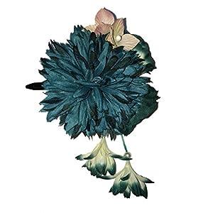 [粋花] Suika ダリア風和装髪飾り 4034 グリーン