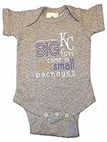 Kansas City Royals Saag幼児赤ちゃん男の子グレーBigファンOne Piece Outfit 12-18 Months