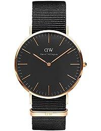 [ダニエル ウェリントン] Daniel Wellington 2016新型40mm メンズ レディース 腕時計 男女兼用 レザー アナログDW00100148 [並行輸入品]