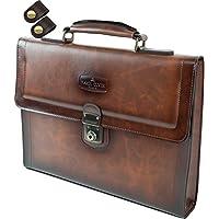 ビジネスバッグ クラッチバッグ PVCシャドーフィニッシュ A4ファイル対応 + [タケハチ] 竹八謹製 [牛革製ケーブルバンド2個] セット tm0329