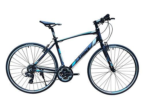 軽量アルミフレーム街乗りから競技まで700C フラットロード TRINX(トリンクス) FREE1.0 【クロスバイク】シマノTOURNEY21段