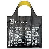 (ローキー)LOQI 折りたたみ エコバッグ ECO BAGS ポーチ付き 大サイズ AIRPORT Arrivals【AIRPORT-a】
