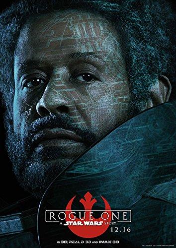 映画 ローグ ワン スター ウォーズ ストーリー ポスター 42x30cm 2016 Rogue One: A Star Wars Story ジン・アーソ フェリシティ・ジョーンズ キャシアン・アンドア大尉 ボーディー・ルック チアルート・イムウェ K-2SO ダース・ベイダー [並行輸入品]