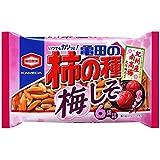 亀田製菓 亀田の柿の種 梅しそ6袋 182g