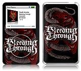 Music Skins iPod Classic用フィルム Bleeding Through – Snake Cage iPod classic MSRKIPC00028
