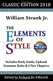 The Elements of Style: Classic Edition (2018): With Editor's Notes, New Chapters & Study Guide 画像