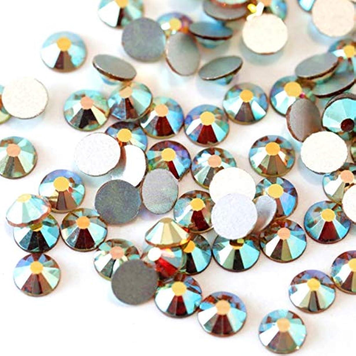 流星爆発する階段【ラインストーン77】高品質ガラス製ラインストーン 色/サイズ選択可 SS3~SS50 スワロフスキー同等 (サンライズ, SS4:約1.5mm(約200粒))