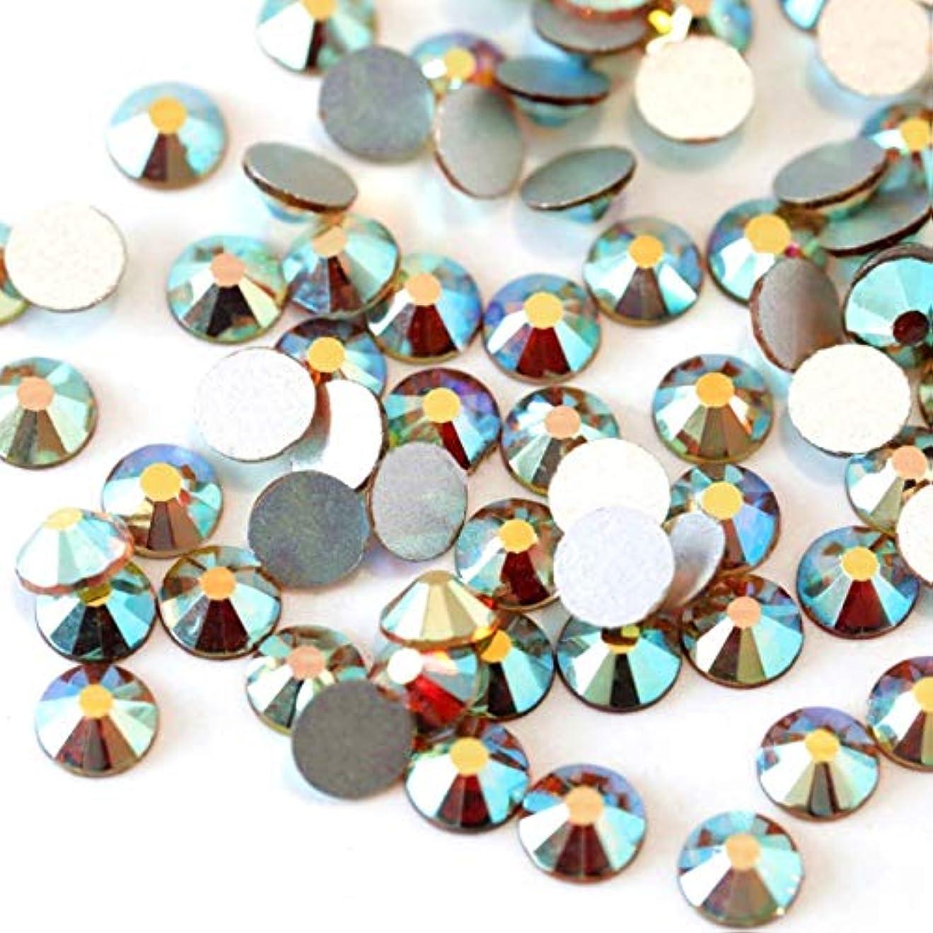 雪だるまスリムヒューム【ラインストーン77】高品質ガラス製ラインストーン 色/サイズ選択可 SS3~SS50 スワロフスキー同等 (サンライズ, SS20:約4.7mm(約120粒))