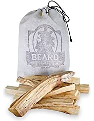 Beard & Bates | Palo Santo – Extra Large、Handcut、Sustainably Wild Harvested Incense Sticks for瞑想、クレンジング、Stress...